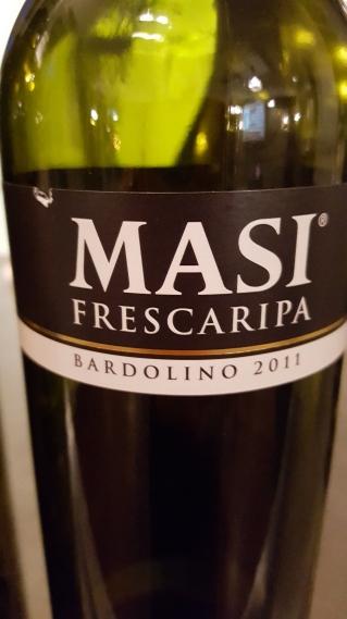 2011 Masi 'Frescaripa' Bardolino; ripe cherries, sweet smoke, vanilla, strawberry compote, light;